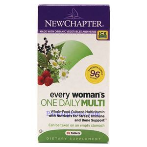 Picture of New Chapter Every Woman's One Daily Multivitamin 96 Tablets