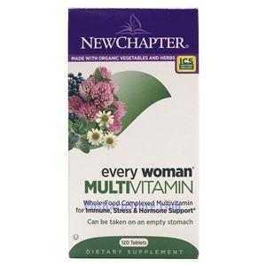 图片 New Chapter新章牌女人复合维生素片 120粒