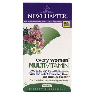 Picture of New Chapter Every Woman Multivitamin 48 Tablets