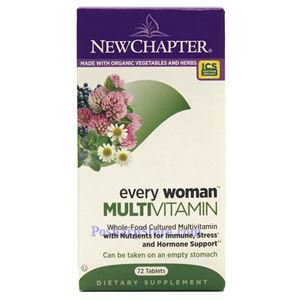 Picture of New Chapter Every Woman Multivitamin 72 Tablets