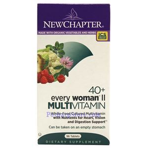 Picture of New Chapter Every 40+ Woman  II  Multivitamin 96 Tablets