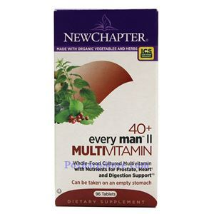 Picture of New Chapter Every 40+ Man  II  Multivitamin 96 Tablets