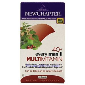 Picture of New Chapter Every 40+ Man  II  Multivitamin 48 Tablets