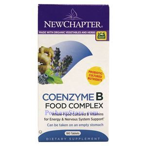 Picture of New Chapter Coenzyme B Food Complex 180 Tablets