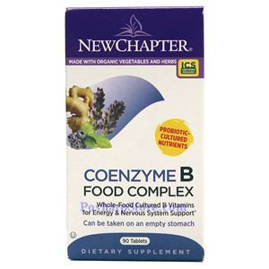 Picture of New Chapter Coenzyme B Food Complex 90 Tablets