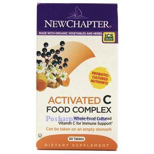 图片 New Chapter新章牌 活化维生素C复合膳食片 60粒