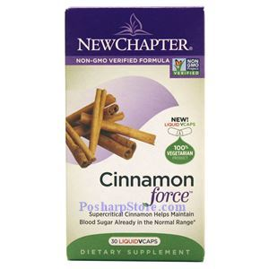 Picture of New Chapter Cinnamon Force 30 Liquid Veg Capsules
