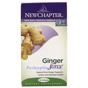 Picture of New Chapter Ginger Force 30 Softgels