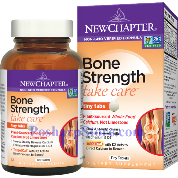 Picture for category New Chapter Bone Strength Take Care™ 60 Tiny Tablets