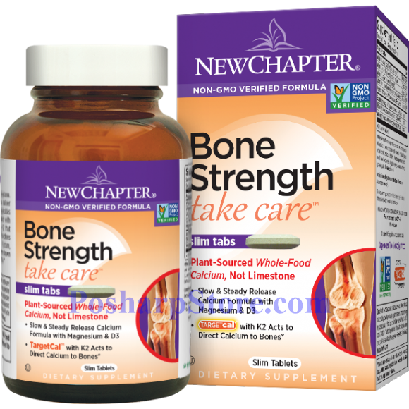 Picture for category New Chapter Bone Strength Take Care™ 60 Slim Tablets