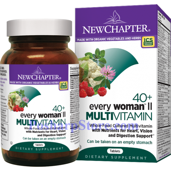 Picture for category New Chapter Every 40+ Woman  II  Multivitamin 96 Tablets