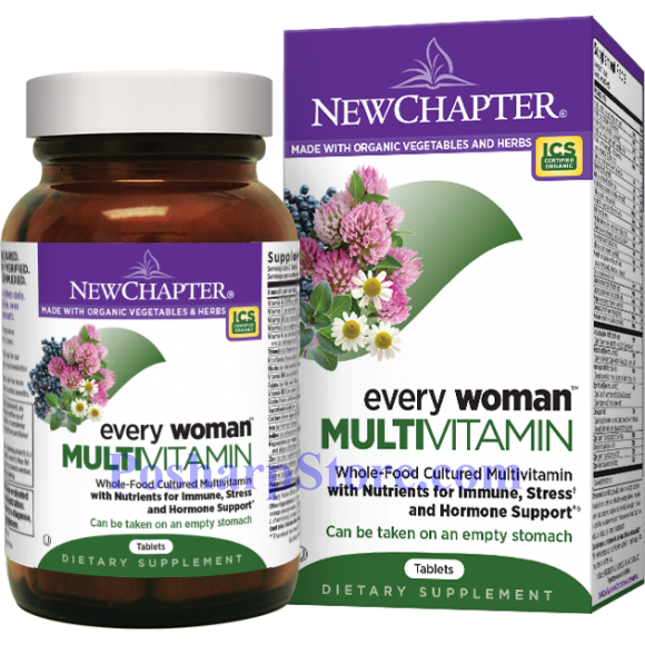 Picture for category New Chapter Every Woman Multivitamin 72 Tablets
