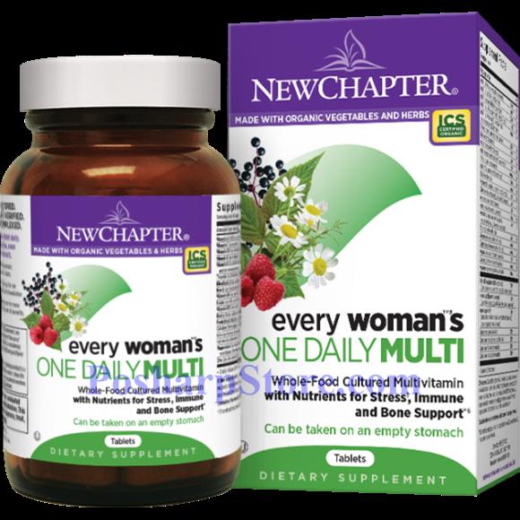 分类图片 New Chapter新章牌女人一日一粒复合维生素片 96粒