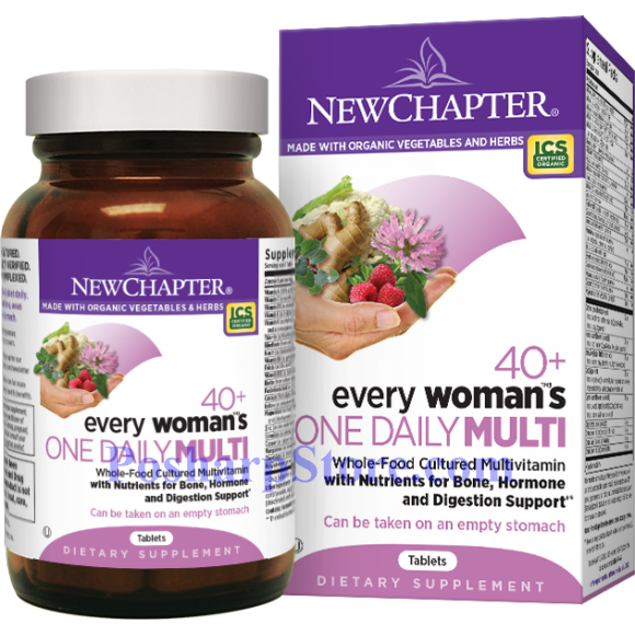 Picture for category New Chapter Every 40+ Woman's One Daily Multivitamin 24 Tablets