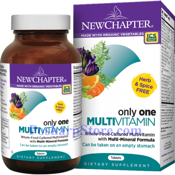 Picture for category New Chapter Only One Multivitamin 72 tablets