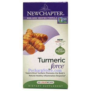 Picture of New Chapter Turmeric Force 120 Liquid Vcaps