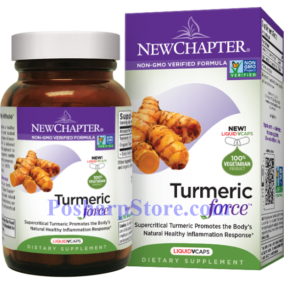 Picture for category New Chapter Turmeric Force 30 Liquid Vcaps
