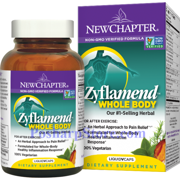 Picture for category New Chapter Zyflamend Whole Body 60 Softgels
