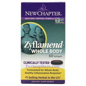 Picture of New Chapter Zyflamend Whole Body 60 Softgels