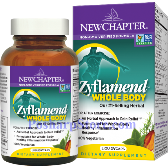 Picture for category New Chapter Zyflamend Whole Body 120 Softgels