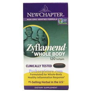 Picture of New Chapter Zyflamend Whole Body 120 Softgels