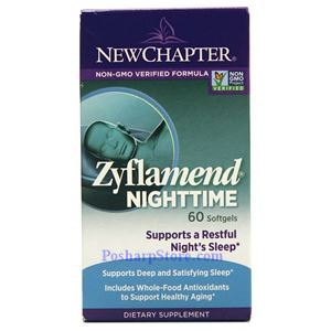 Picture of New Chapter Zyflamend Nighttime 60 Softgels
