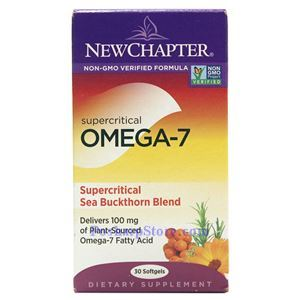 Picture of New Chapter Supercritical Omega-7 & Sea Buckthorn Blend 30 Softgels