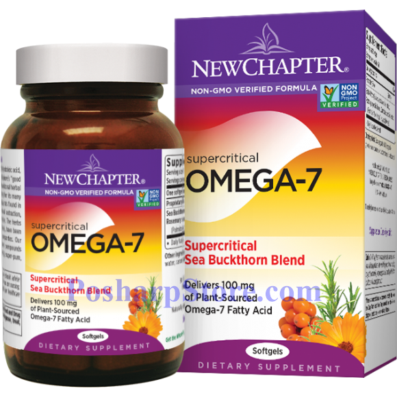 Picture for category New Chapter Supercritical Omega-7 & Sea Buckthorn Blend 60 Softgels
