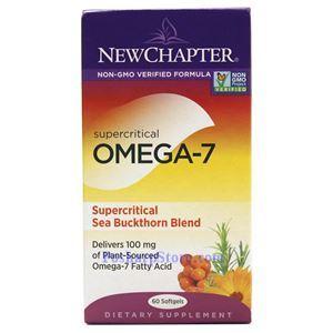 Picture of New Chapter Supercritical Omega-7 & Sea Buckthorn Blend 60 Softgels