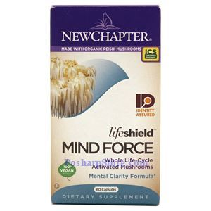 Picture of New Chapter LifeShield Mind Force 60 Capsules