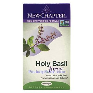 Picture of New Chapter Holy Basil Force 120 Softgels