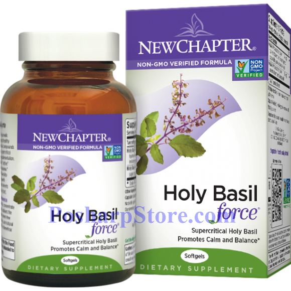 Picture for category New Chapter Holy Basil Force 120 Softgels