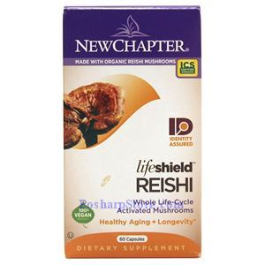 Picture of New Chapter LifeShield Reishi 60 Capsules