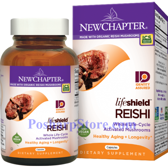 Picture for category New Chapter LifeShield Reishi 60 Capsules