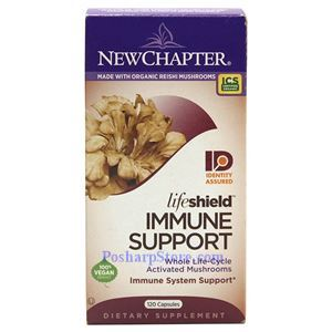 Picture of New Chapter LifeShield Immune Support 120 Capsules