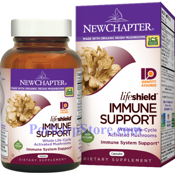 Picture for category New Chapter LifeShield Immune Support 120 Capsules