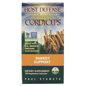 Picture of Host Defence Organic Cordyceps 120 Veg Capsules