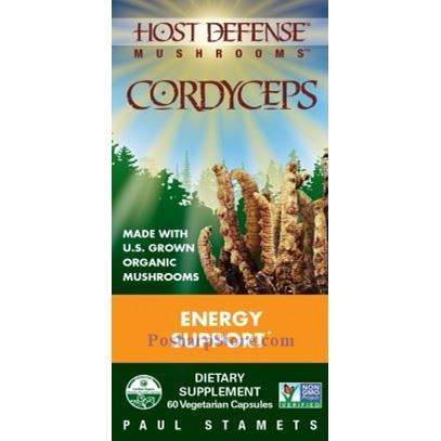 Picture for category Host Defence Organic Cordyceps 120 Veg Capsules