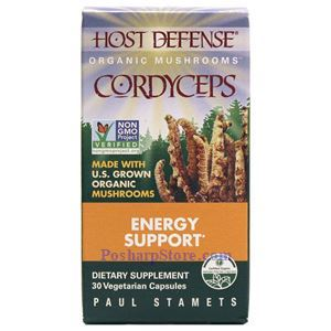 Picture of Host Defence Organic Cordyceps 30 Veg Capsules