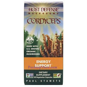 Picture of Host Defence Organic Cordyceps 60 Veg Capsules
