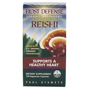 图片 Host Defense牌有机灵芝素食胶囊 120粒