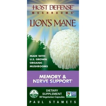 Picture for category Host Defence Organic Mushroom Lion's Mane 60 Capsules