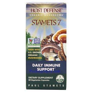 图片 Host Defense牌有机七种菌免疫保健素食胶囊 60粒