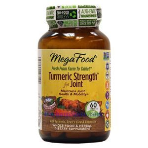 Picture of Megafood Turmeric Strength for Joint 60 Tablets
