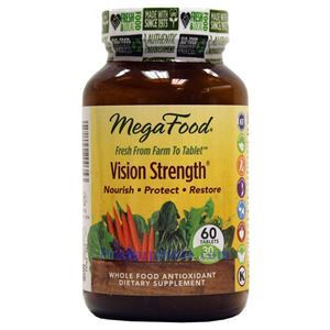 Picture of Megafood Vision Strength 60 Tablets