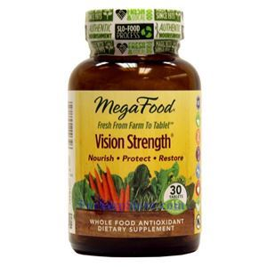 Picture of Megafood Vision Strength 30 Tablets