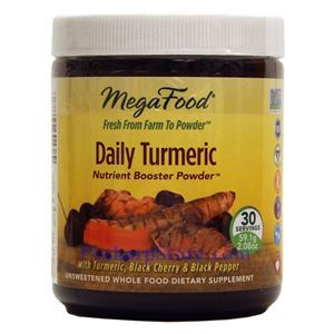 Picture of Megafood Daily Turmeric Nutrition Booster Powder  2 Oz