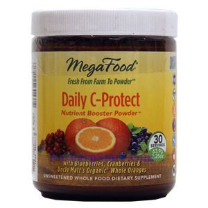 Picture of Megafood Daily C-Protect Nutrition Booster Powder  2.25 Oz