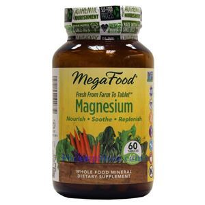 Picture of Megafood Magnesium 60 Tablets