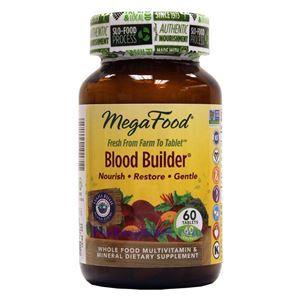 Picture of Megafood Blood Builder 60 Tablets